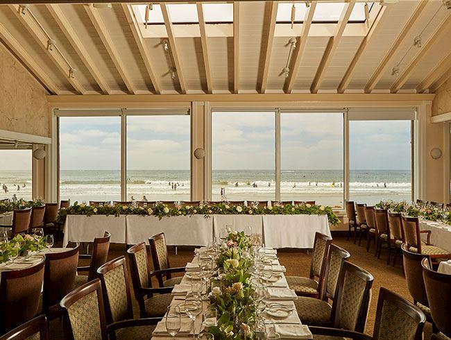 Plan Your Special Event at the Marine Room Restaurant In La Jolla top