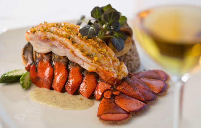 Lobster Night at Marine Room Restaurant In La Jolla