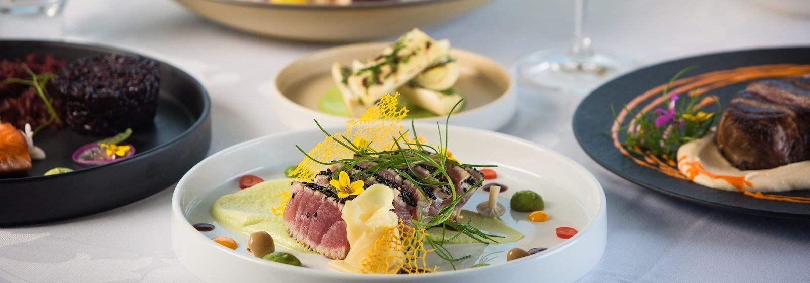 Menu of the Marine Room Restaurant In La Jolla top