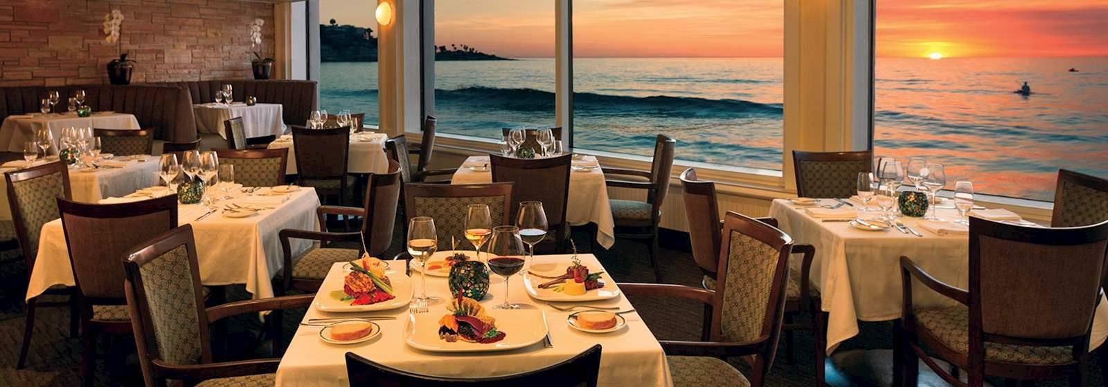 Press Room Of the Marine Room Restaurant In La Jolla top
