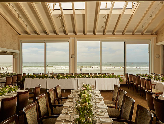 The Marine Room, La Jolla Spindrift Room