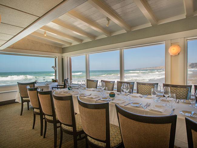 Celebrate your weddings at Terrace of The Marine Room, La Jolla